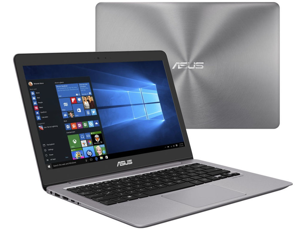 Ноутбук ASUS UX310UA-FC1079T 90NB0CJ1-M18100 Grey (Intel Core i3 7100U 2.4Ghz/8192Mb/256Gb SSD/Intel HD Graphics 620/Wi-Fi/Bluetooth/Cam/13.3/1920x1080/Windows 10)
