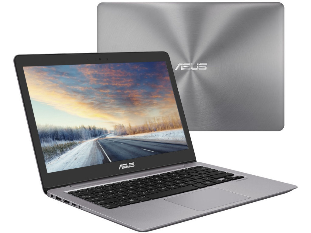 Ноутбук ASUS UX310UA-FC1079 90NB0CJ1-M18720 Grey (Intel Core i3 7100U 2.4Ghz/8192Mb/256Gb SSD/Intel HD Graphics 620/Wi-Fi/Bluetooth/Cam/13.3/1920x1080/Endless OS) new lcd for asus k53s screen display glossy matrix for laptop 15 6 hd 1366 768 led panelreplacement