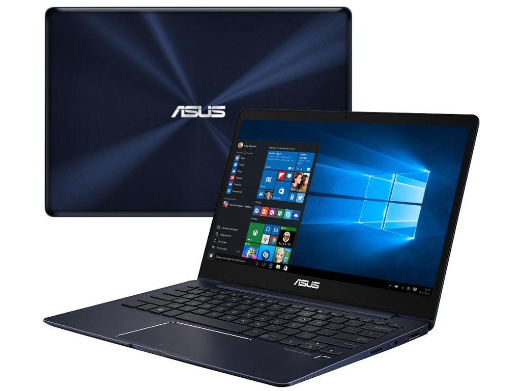 Ноутбук ASUS UX331UA-EG008R 90NB0GZ1-M05730 Royal Blue (Intel Core i5 8250U 1.6Ghz/8192Mb/512Gb SSD/Intel HD Graphics 620/Wi-Fi/Bluetooth/Cam/13.3/1920x1080/Windows 10 Pro)