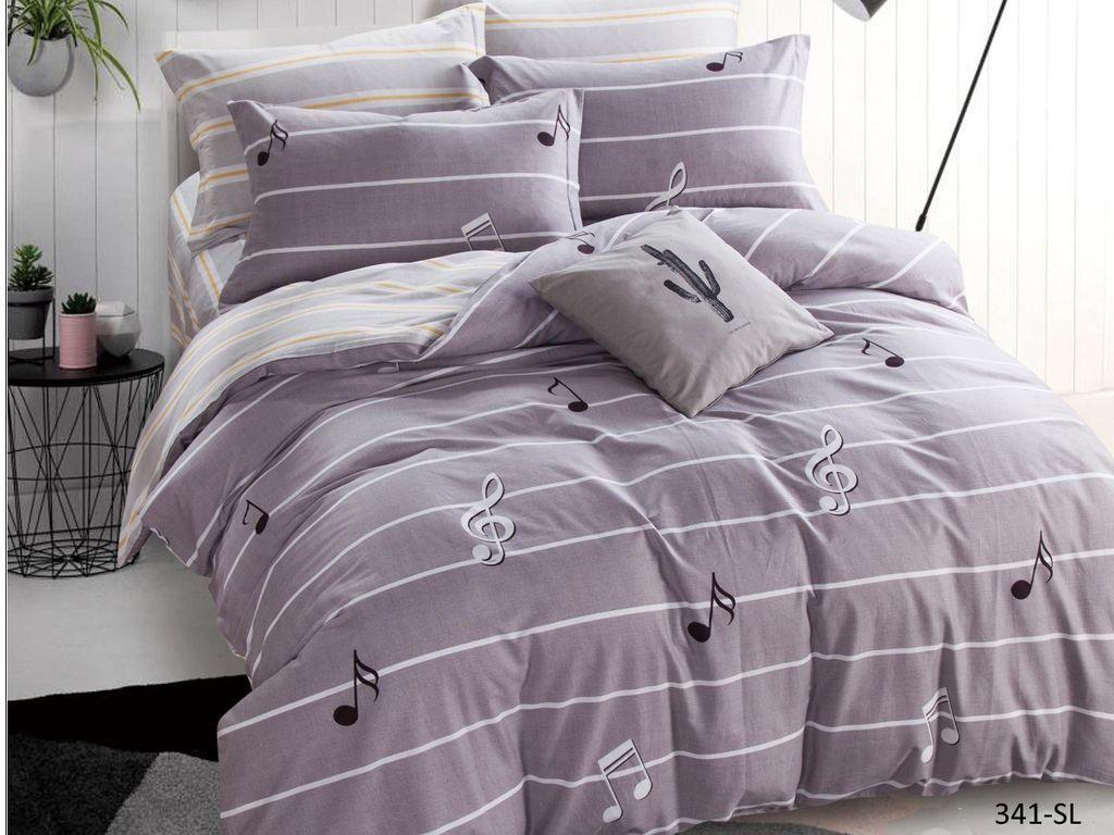 все цены на Постельное белье Cleo Satin Lux 15/341-SL Комплект 1.5 спальный Сатин онлайн