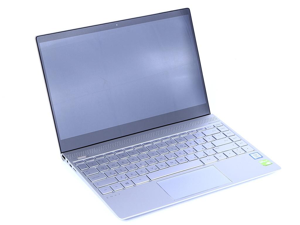 Ноутбук HP Envy 13-ad117ur Pike Silver 3XZ99EA (Intel Core i7-8550U 1.8 GHz/8192Mb/1000Gb SSD/nVidia GeForce MX150 2048Mb/Wi-Fi/Bluetooth/Cam/13.3/1920x1080/Windows 10 Home 64-bit) ноутбук hp envy x360 15 cn0008ur 4hc88ea natural silver intel core i5 8250u 1 6 ghz 16384mb 1000gb 256gb ssd nvidia geforce mx150 4096mb wi fi cam 15 6 1920x1080 touchscreen windows 10 64 bit