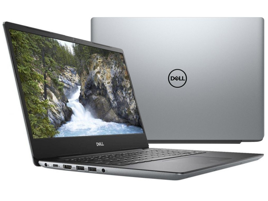 Ноутбук Dell Vostro 5481 Ice Gray 5481-6062 (Intel Core i5-8265U 1.6 GHz/8192Mb/1000Gb+128Gb SSD/nVidia GeForce MX130 2048Mb/Wi-Fi/Bluetooth/Cam/14.0/1920x1080/Linux)