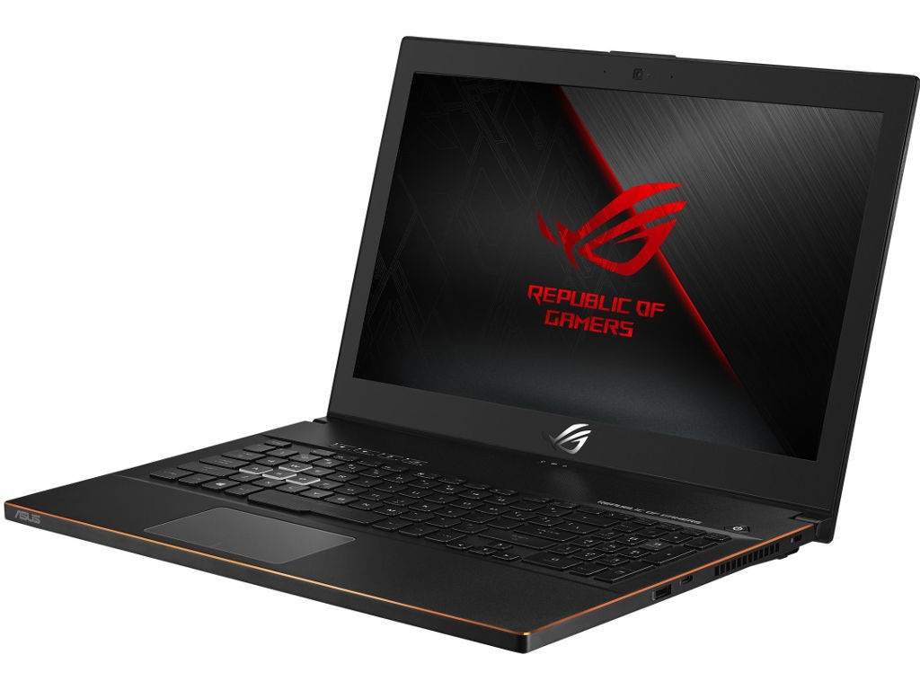 Ноутбук ASUS ROG ZEPHYRUS GM501GM-EI032T 90NR00F1-M01080 Black Metal (Intel Core i7 8750H 2.2Ghz/16384Mb/1000Gb HDD+256Gb SSD/nVidia GeForce GTX1060 6144Mb/Wi-Fi/Bluetooth/Cam/15.6/1920x1080/Windows 10 Pro)