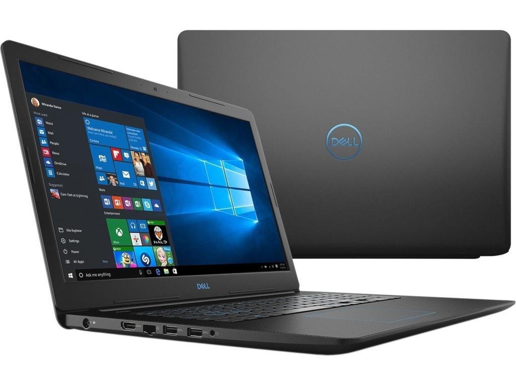 Ноутбук Dell G3-3779 Black G317-5362 (Intel Core i5-8300H 2.3 GHz/8192Mb/1000Gb+128Gb SSD/nVidia GeForce GTX 1050Ti 4096Mb/Wi-Fi/Bluetooth/Cam/17.3/1920x1080/Windows 10 Home 64-bit)