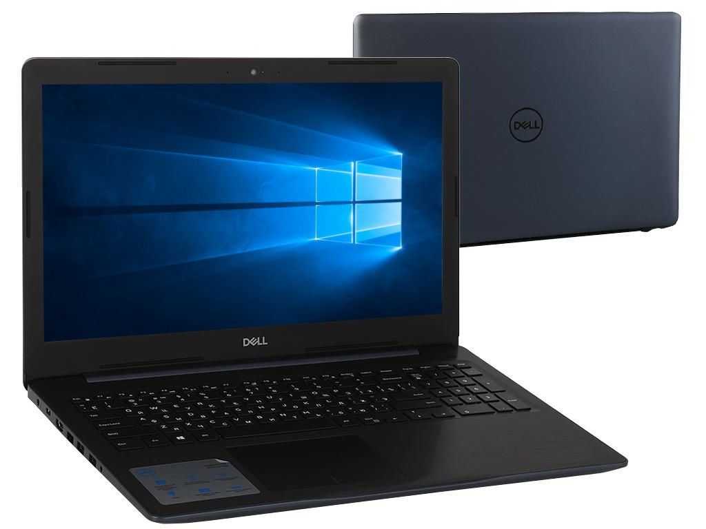 Ноутбук Dell Inspiron 5570 Blue 5570-5324 (Intel Core i3-7020U 2.3 GHz/4096Mb/1000Gb/DVD-RW/AMD Radeon 530 2048Mb/Wi-Fi/Bluetooth/Cam/15.6/1920x1080/Windows 10 Home 64-bit) ноутбук dell inspiron 5570 5570 8749 intel core i3 6006u 2 0 ghz 4096mb 256gb ssd dvd rw amd radeon 530 2048mb wi fi cam 15 6 1920x1080 linux