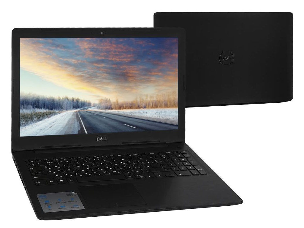 Ноутбук Dell Inspiron 5570 Black 5570-5287 (Intel Core i3-7020U 2.3 GHz/4096Mb/1000Gb/DVD-RW/AMD Radeon 530 2048Mb/Wi-Fi/Bluetooth/Cam/15.6/1920x1080/Linux)