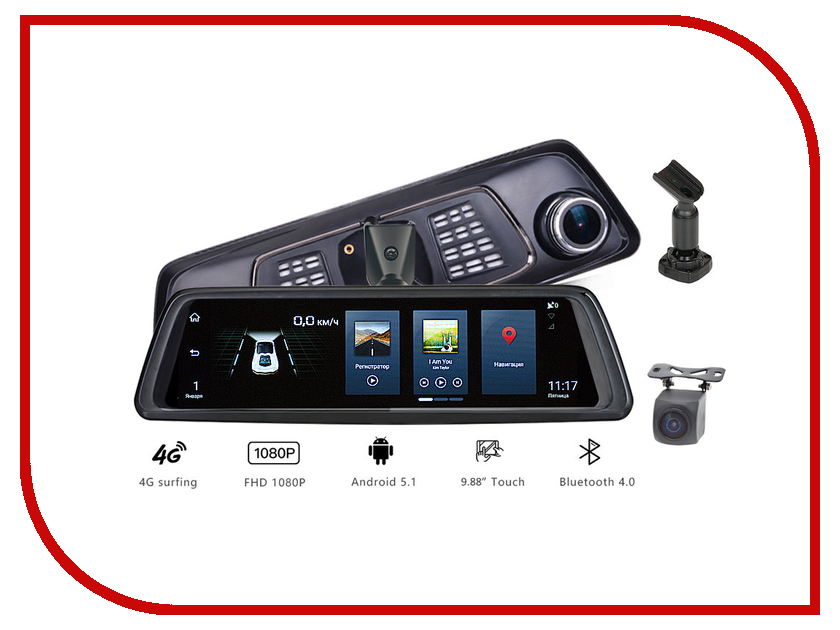 Видеорегистратор Blackview X9 AutoSmart x9 pro 0 95 inch oled touch screen bluetooth smartwatch
