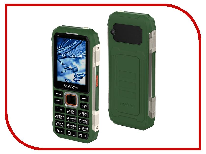 Сотовый телефон Maxvi T2 Green сотовый телефон s s