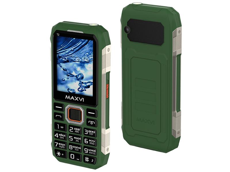 Сотовый телефон Maxvi T2 Green