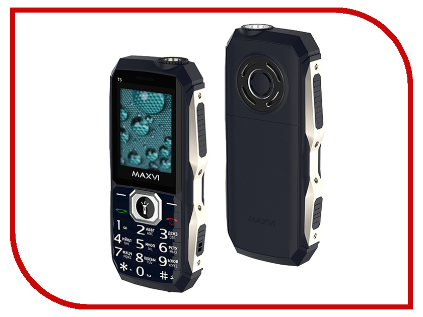 Сотовый телефон Maxvi T5 Dark Blue сотовый телефон maxvi t5 dark blue
