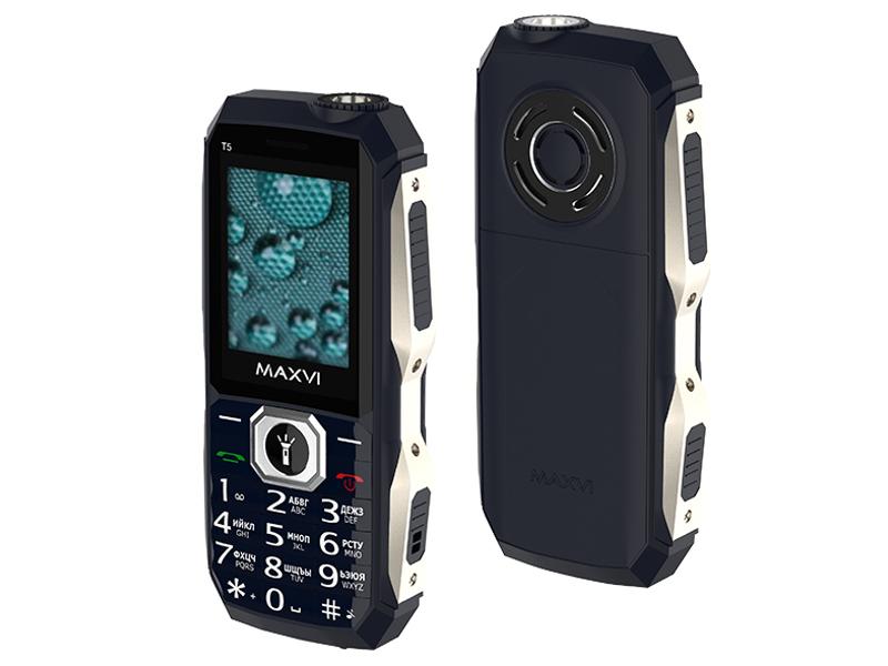 Сотовый телефон Maxvi T5 Dark Blue