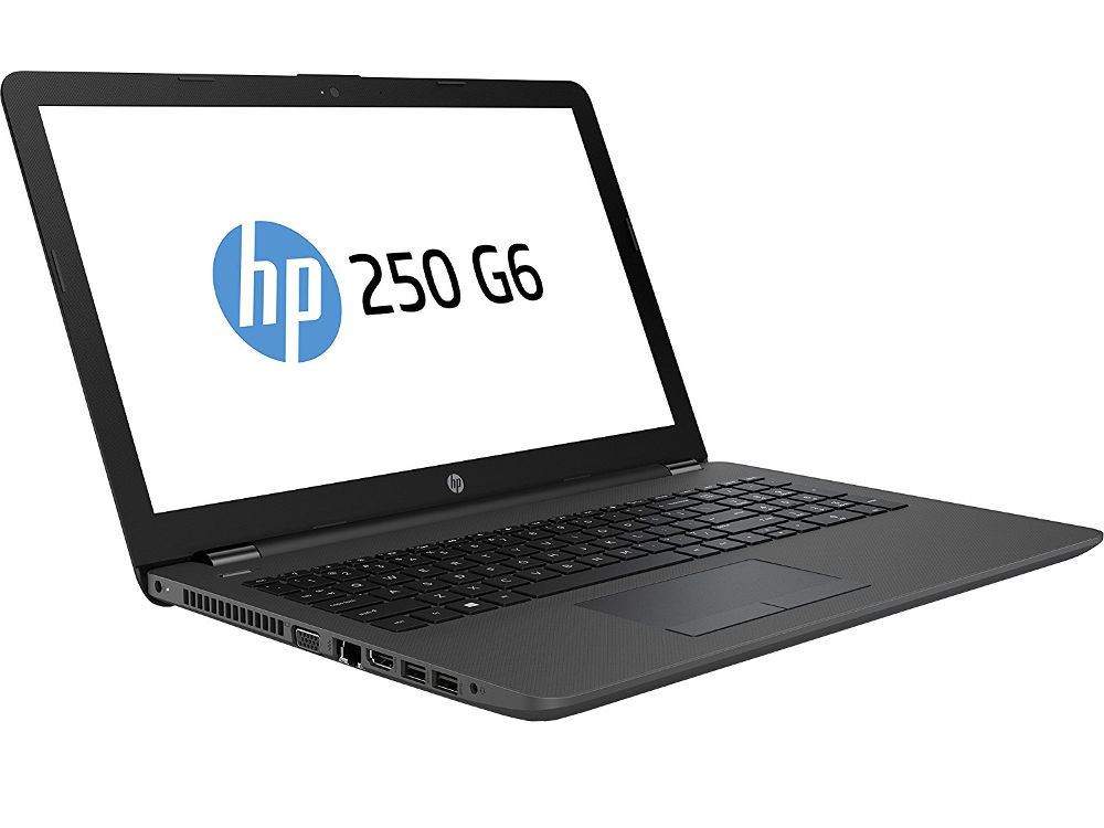 Ноутбук HP 250 G6 4WV06EA (Intel Celeron N4000 1.1 GHz/4096Mb/500Gb/DVD-RW/Intel HD Graphics/Wi-Fi/Bluetooth/Cam/15.6/1366x768/Windows 10 64-bit) ноутбук dell inspiron 3573 3573 5468 black intel celeron n4000 1 1 ghz 4096mb 500gb dvd rw intel hd graphics wi fi bluetooth cam 15 6 1366x768 windows 10 64 bit