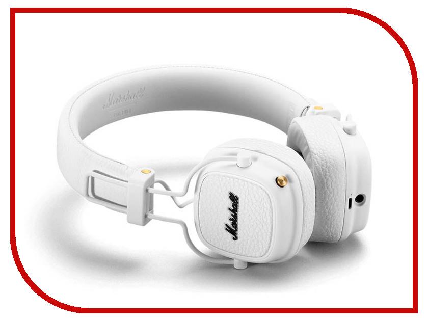 Marshall Major III Bluetooth White наушники marshall major iii bluetooth black