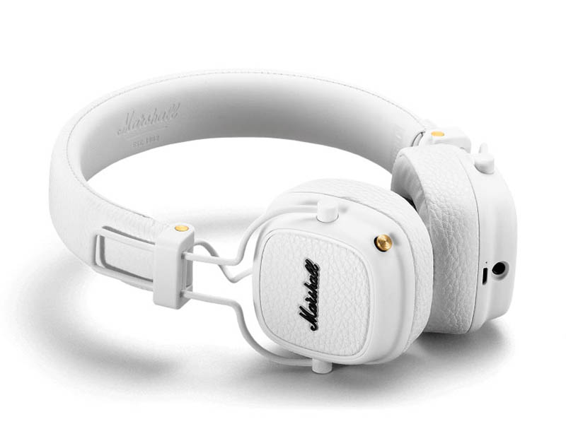 Наушники Marshall Major III Bluetooth White — Major III