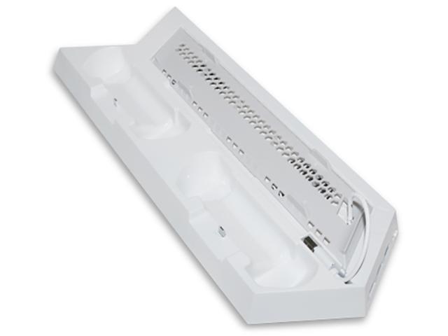 Подставка вертикальная Dobe TP4-891S White для PS4 Slim/PS4 цена и фото
