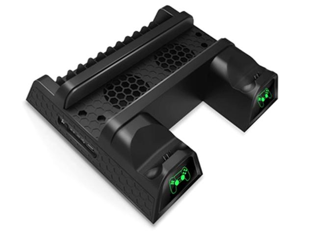 Подставка вертикальная Dobe TP4-1785 Black для PS4 Slim/Pro цена и фото