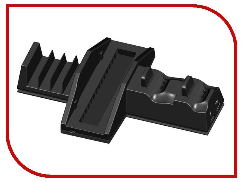 Подставка вертикальная Dobe TP4-837 Black для PS4/PS4 Pro видеоигра для ps4 just cause 3