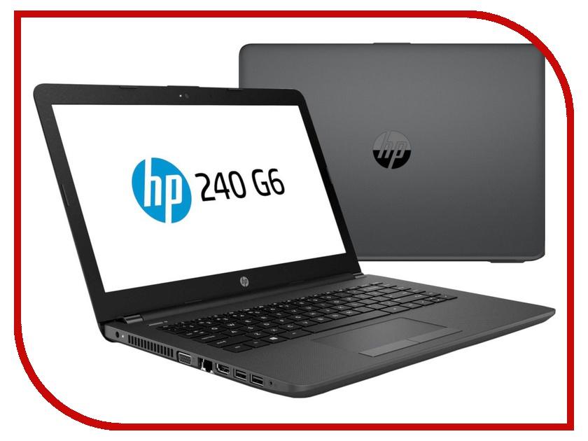 Ноутбук HP 240 G6 4QX58EA (Intel Celeron N4000 1.1 GHz/4096Mb/128Gb SSD/DVD-RW/Intel HD Graphics/Wi-Fi/Bluetooth/Cam/14.0/1366x768/DOS) моноблок hp 200 g3 3va55ea intel core i5 8250u 1 6 ghz 4096mb 1000gb 128gb ssd dvd rw intel hd graphics 21 5 1920x1080 dos