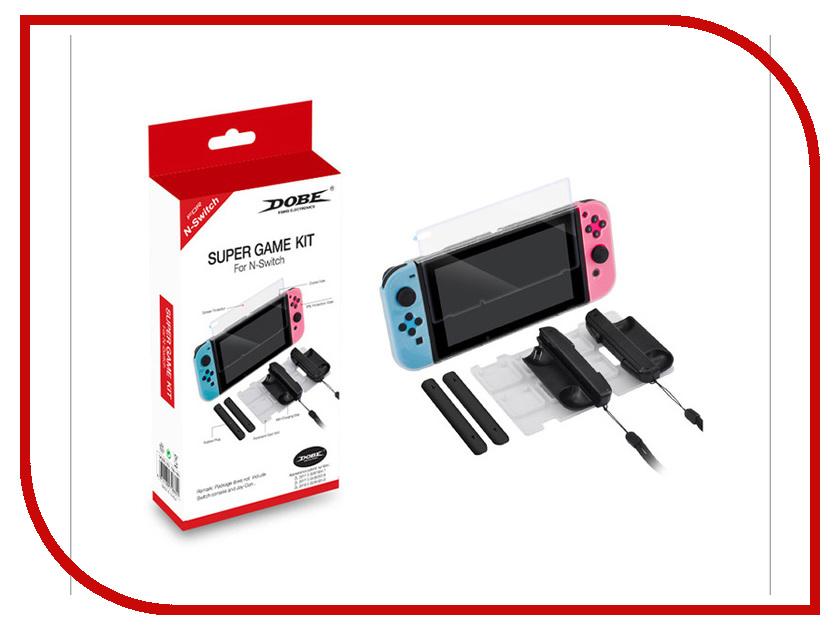 Набор аксессуаров Dobe 7in1 Super Game Kit TNS-1880 для Nintendo Switch lpsecurity magnetic limit switch kit for sliding gate opener motor
