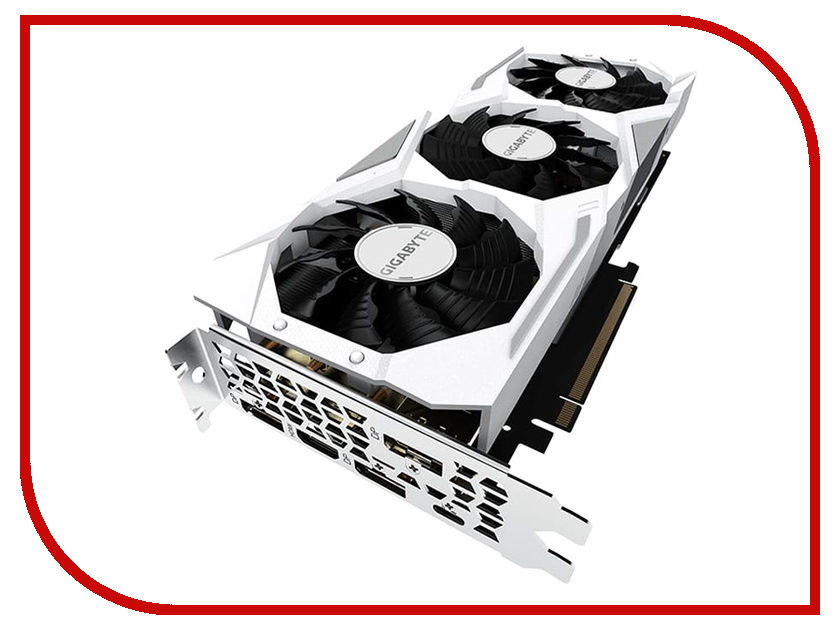 Видеокарта GIGABYTE GeForce RTX 2080 1815MHz PCI-E 3.0 8192MB 14000MHz 256 bit HDMI HDCP GAMING OC WHITE-8GC видеокарта asus geforce rtx 2080 1515mhz pci e 3 0 8192mb 14000mhz 256 bit 2xhdmi hdcp strix gaming oc rog strix rtx2080 o8g gaming