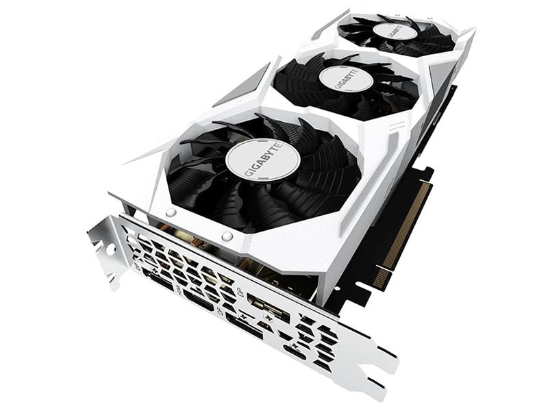 Видеокарта GigaByte RTX 2080 1815MHz PCI-E 8192MB 14000MHz 256 bit HDMI N2080GAMING OC WHITE-8GC