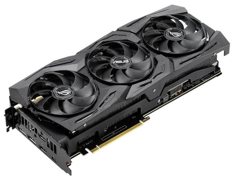 купить Видеокарта ASUS RTX 2080 1515Mhz PCI-E 8192Mb 14000Mhz 256 bit DP 2xHDMI ROG-STRIX-RTX2080-8G-GAMING по цене 53887 рублей