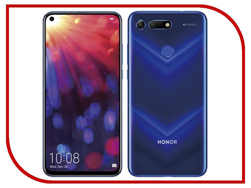 Сотовый телефон Honor View 20 6/128GB Blue смартфон honor view 20 256gb красный