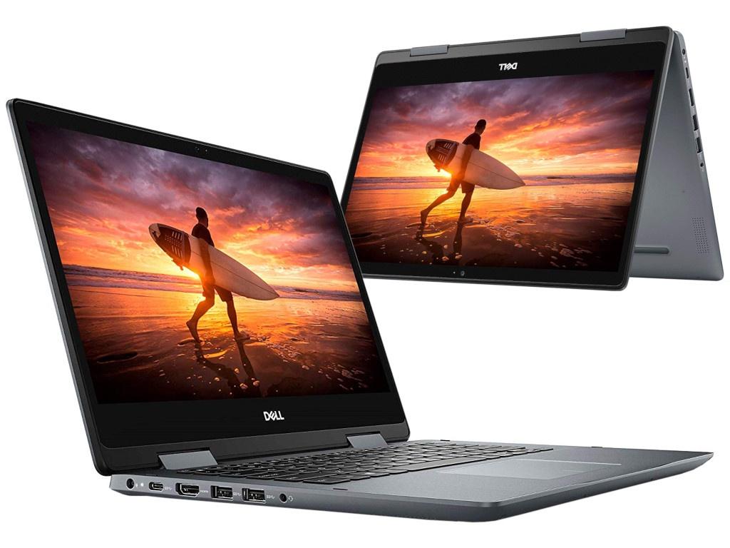 Ноутбук Dell Inspiron 5482 Grey 5482-5454 (Intel Core i5-8265U 1.6 GHz/8192Mb/1000Gb/Intel HD Graphics/Wi-Fi/Bluetooth/Cam/14.0/1920x1080/Touchscreen/Windows 10 Home 64-bit)