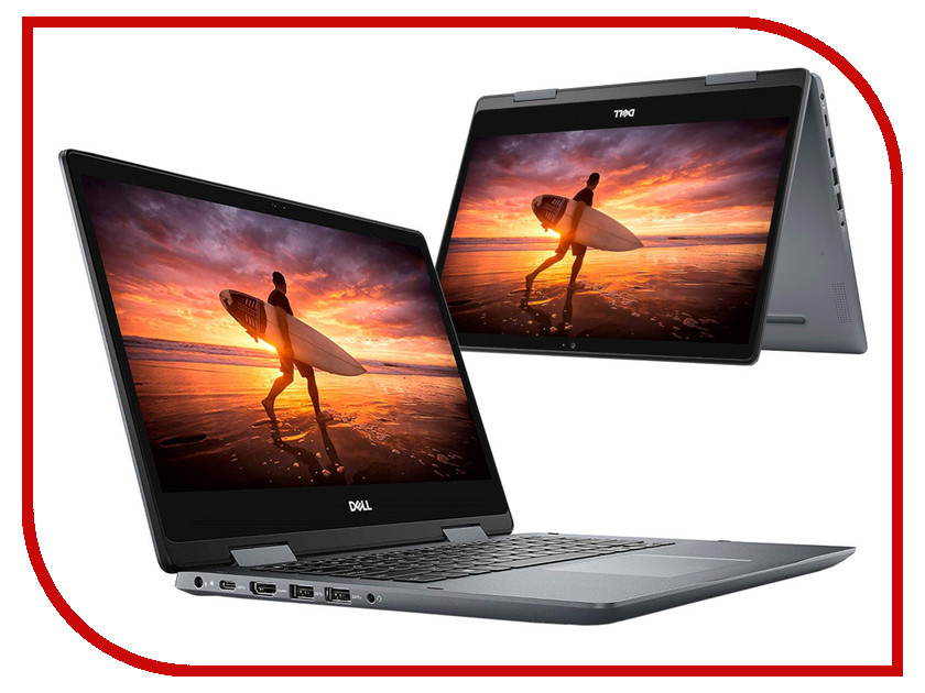 Ноутбук Dell Inspiron 5482 Grey 5482-5430 (Intel Core i3-8145U 2.1 GHz/4096Mb/1000Gb/Intel HD Graphics/Wi-Fi/Bluetooth/Cam/14.0/1920x1080/Touchscreen/Windows 10 Home 64-bit) ноутбук dell inspiron 5378 intel core i3 7100u 2400 mhz 13 3 1920x1080 4gb 1000gb hdd dvd нет intel hd graphics 620 wi fi bluetooth windows 10 home серый