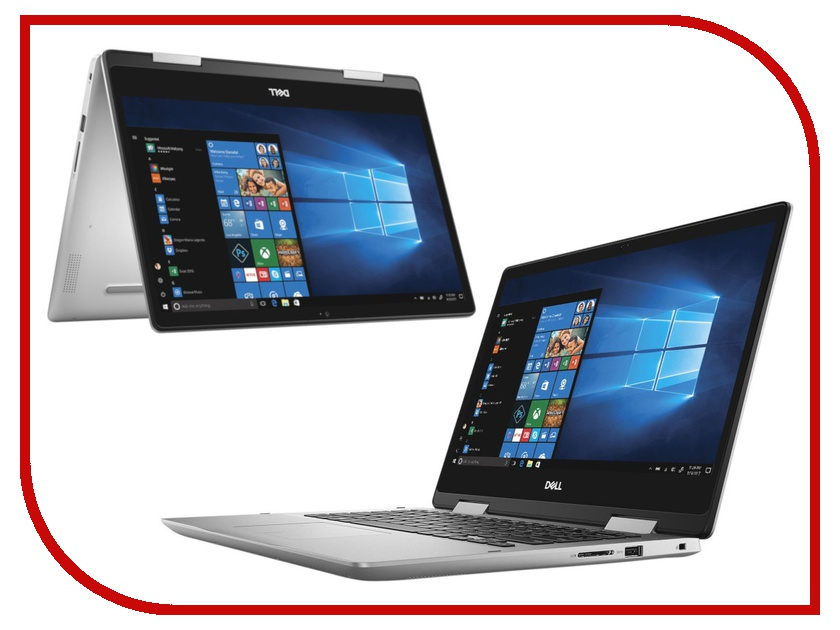 Ноутбук Dell Inspiron 5482 Silver 5482-5423 (Intel Core i3-8145U 2.1 GHz/4096Mb/1000Gb/Intel HD Graphics/Wi-Fi/Bluetooth/Cam/14.0/1920x1080/Touchscreen/Windows 10 Home 64-bit) for dell inspiron 14z 5423 laptop case d shell dp n tf7xt