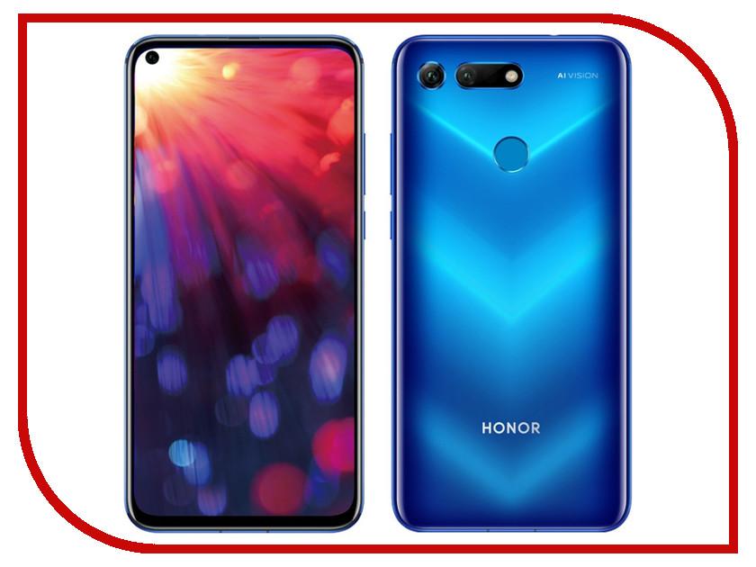 Сотовый телефон Honor View 20 8/256GB Phantom Blue смартфон honor view 20 256gb красный