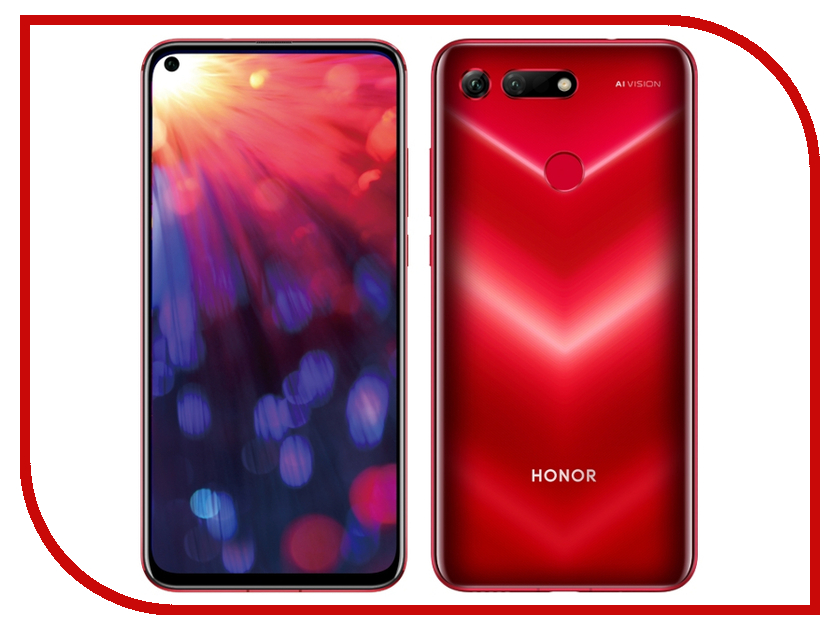 Сотовый телефон Honor View 20 8/256GB Red смартфон honor view 20 256gb красный