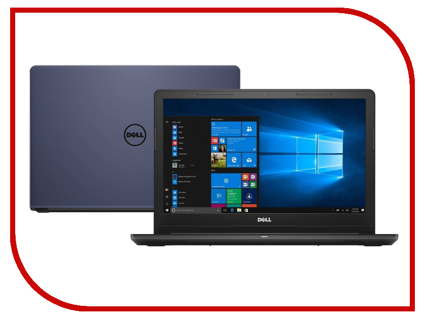 Ноутбук Dell Inspiron 3576 Midnight Blue 3576-5270 (Intel Core i3-7020U 2.3 GHz/4096Mb/1000Gb/DVD-RW/AMD Radeon 520 2048Mb/Wi-Fi/Bluetooth/Cam/15.6/1920x1080/Windows 10 Home 64-bit) ноутбук hp 15 bs612ur silk gold 2qj04ea intel core i3 6006u 2 0 ghz 4096mb 1000gb dvd rw amd radeon 520 2048mb wi fi bluetooth cam 15 6 1920x1080 windows 10 home 64 bit
