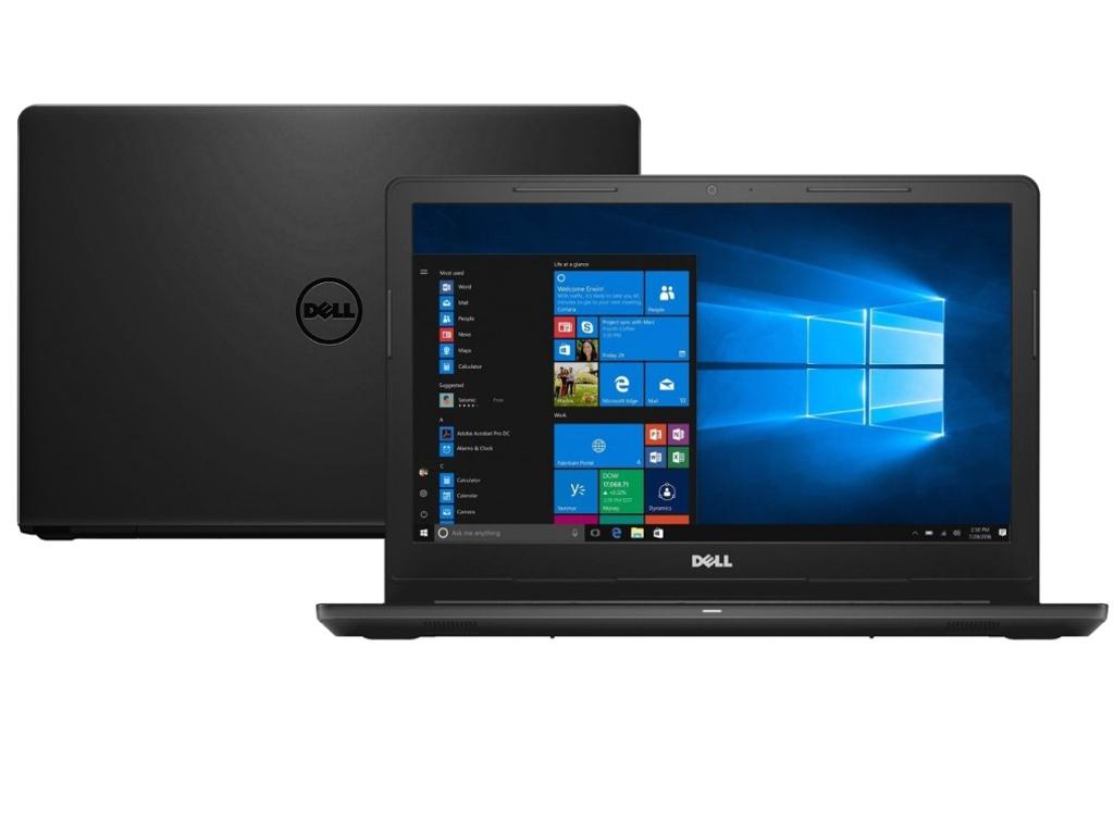Ноутбук Dell Inspiron 3576 Black 3576-5256 (Intel Core i3-7020U 2.3 GHz/4096Mb/1000Gb/DVD-RW/AMD Radeon 520 2048Mb/Wi-Fi/Bluetooth/Cam/15.6/1920x1080/Windows 10 Home 64-bit)