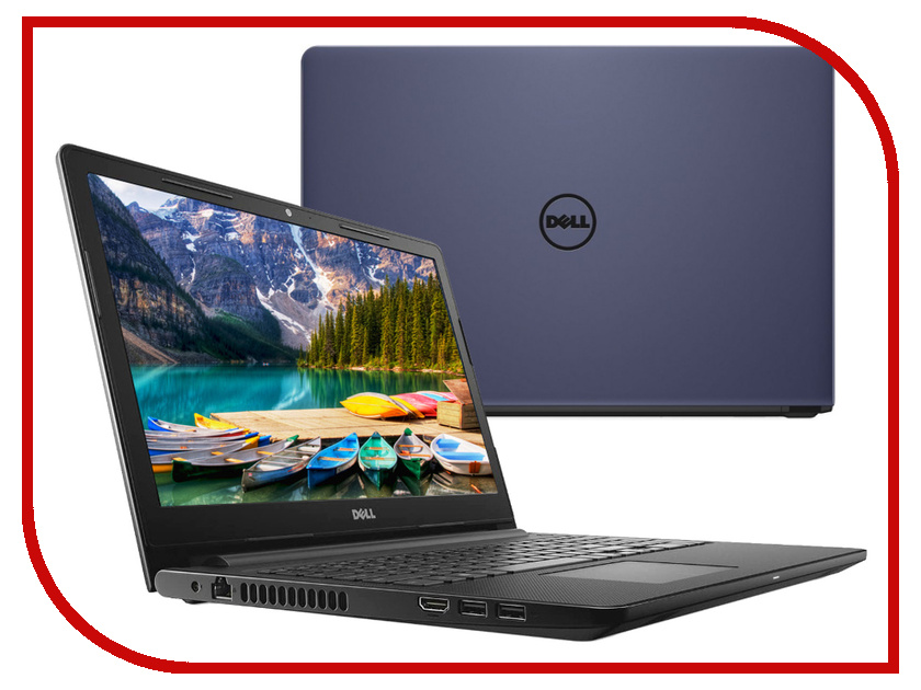 Ноутбук Dell Inspiron 3576 Midnight Blue 3576-5249 (Intel Core i3-7020U 2.3 GHz/4096Mb/1000Gb/DVD-RW/AMD Radeon 520 2048Mb/Wi-Fi/Bluetooth/Cam/15.6/1920x1080/Linux) ноутбук dell inspiron 5570 5570 3100 intel core i3 7020u 2 3 ghz 4096mb 1000gb dvd rw amd radeon r530 2048mb wi fi bluetooth cam 15 6 1920x1080 linux