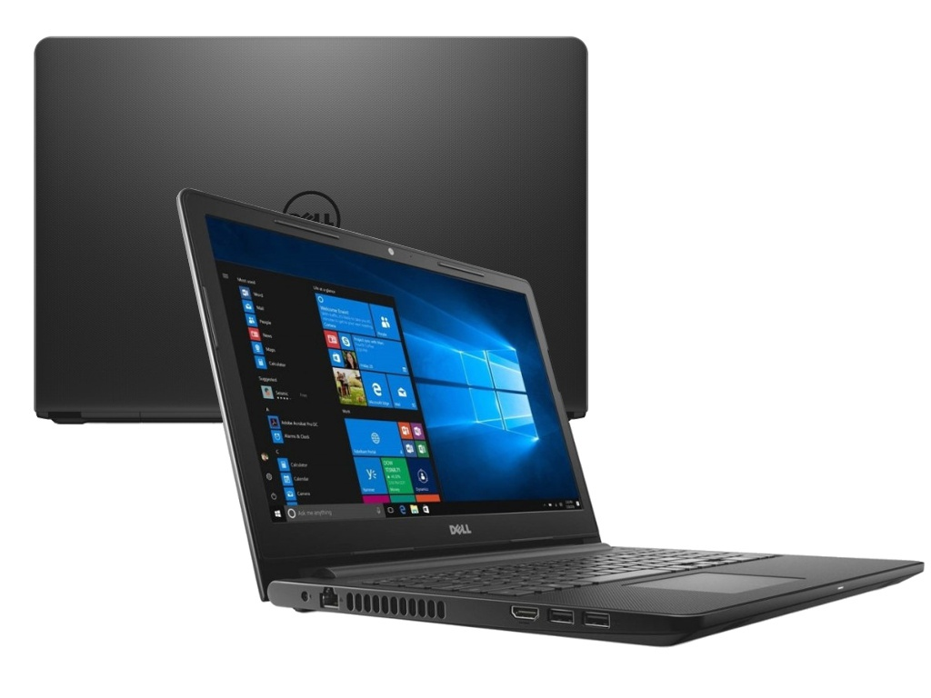 Ноутбук Dell Inspiron 3576 Black 3576-5225 (Intel Core i3-7020U 2.3 GHz/4096Mb/1000Gb/DVD-RW/AMD Radeon 520 2048Mb/Wi-Fi/Bluetooth/Cam/15.6/1920x1080/Linux)