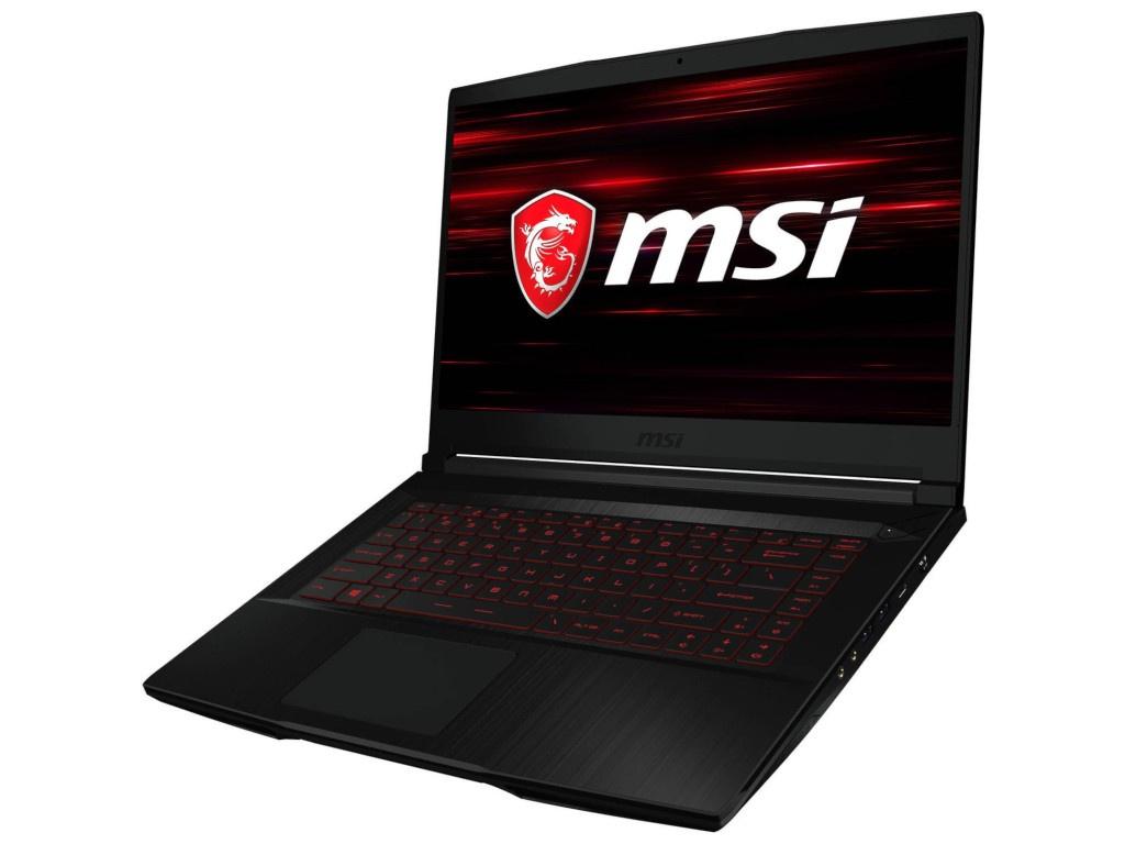 Ноутбук MSI GF63 8RC-045RU 9S7-16R112-045 Black (Intel Core i7 8750H 2.2GHz/8192Mb/1000Gb+128Gb/No ODD/nVidia GeForce GTX1050 4096Mb/Wi-Fi/Bluetooth/Cam/15.6/1920x1080/Windows 10 64-bit)