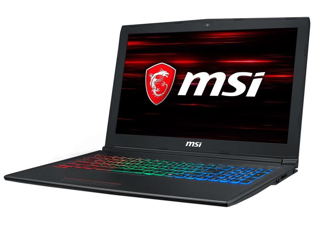 Ноутбук MSI GF62 8RD-268XRU 9S7-16JF22-268 Black (Intel Core i7 8750H 2.2Ghz/8192Mb/1000Gb+128Gb/No ODD/nVidia GeForce GTX1050Ti 4096Mb/Wi-Fi/Bluetooth/Cam/15.6/1920x1080/DOS)