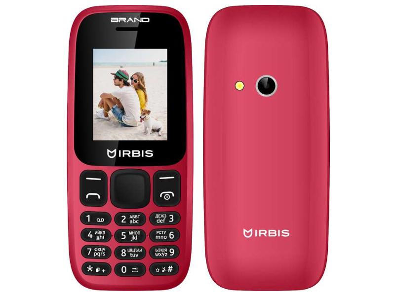 Сотовый телефон Irbis SF16 Red все цены