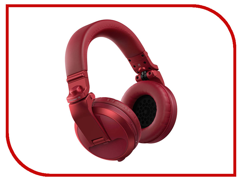 Pioneer HDJ-X5BT-R Red pioneer hdj x5