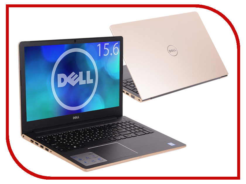 Ноутбук Dell Vostro 5568 Gold 5568-7233 (Intel Core i5-7200U 2.5 GHz/4096Mb/1000Gb/nVidia GeForce GTX 940MX 2048Mb/Wi-Fi/Bluetooth/Cam/15.6/1920x1080/Windows 10 Home 64-bit) моноблок hp aio 24 e053ur white 2bw46ea intel core i5 7200u 2 5 ghz 4096mb 1000gb dvd rw nvidia geforce 920mx 2048mb wi fi bluetooth cam 23 8 1920x1080 windows 10 64 bit