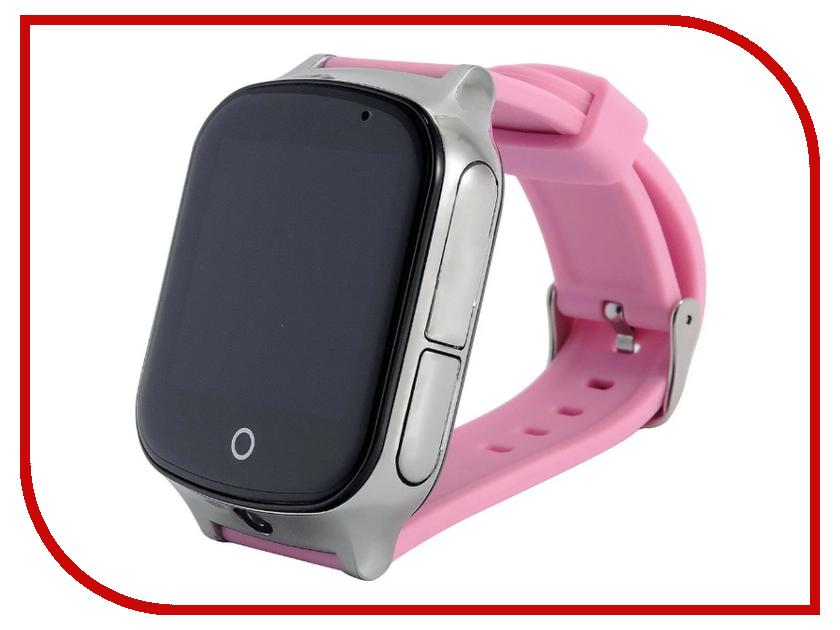 Smart Baby Watch T100 Pink сотовый телефон senseit t100 black