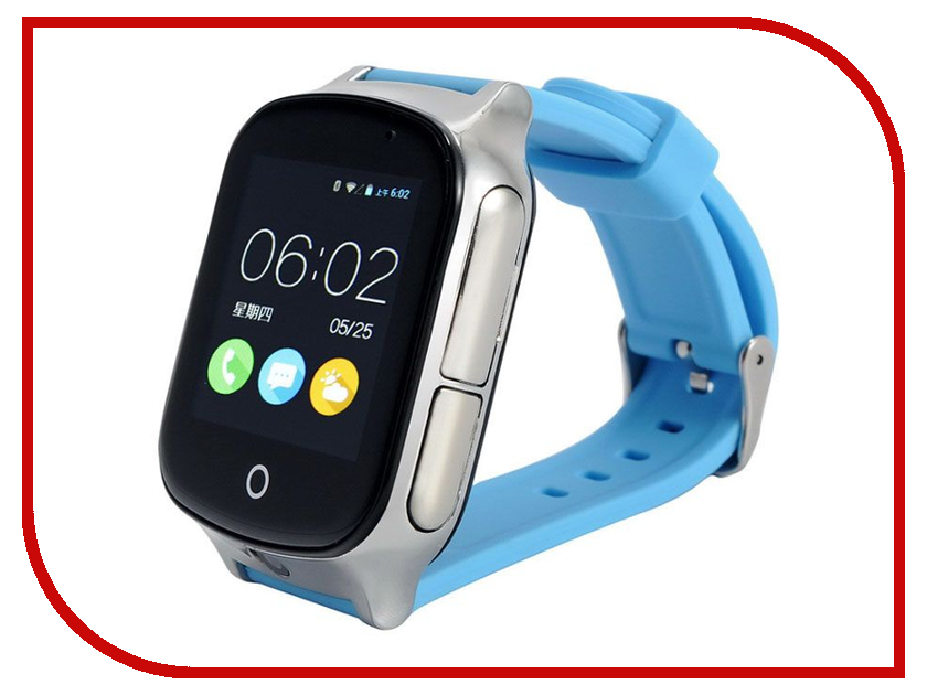 Smart Baby Watch T100 Light Blue сотовый телефон senseit t100 black