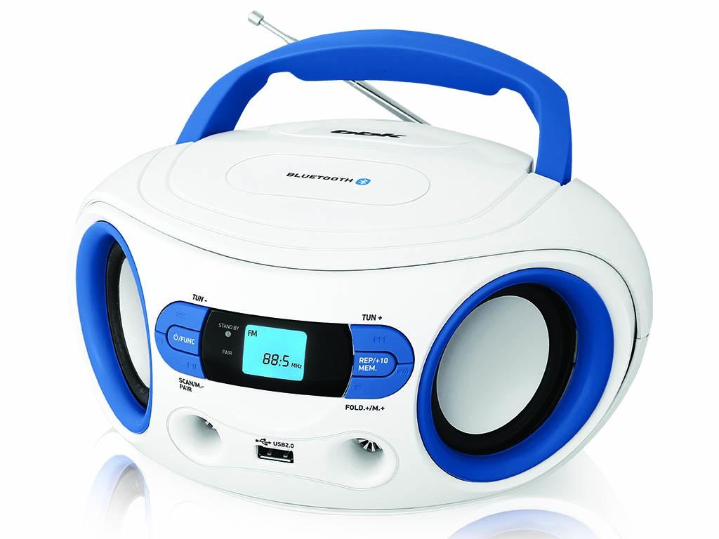 Магнитола BBK BS15BT White-Light Blue цены