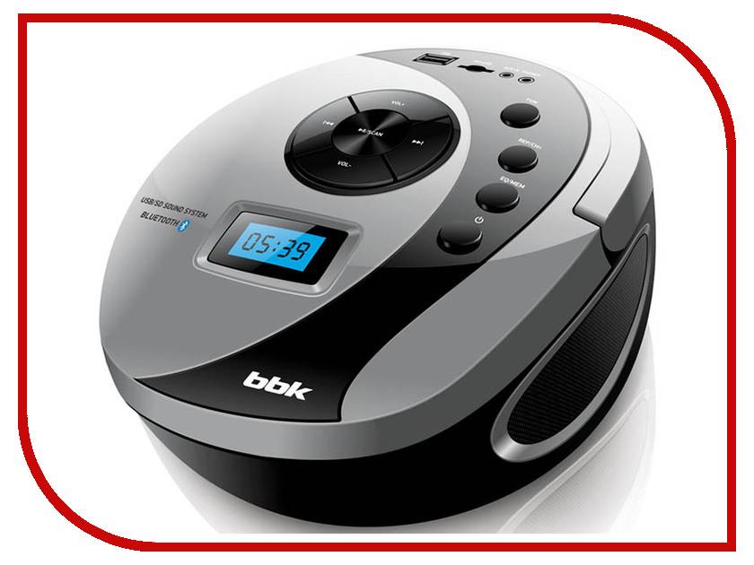 Магнитола BBK BS10BT Black-Grey