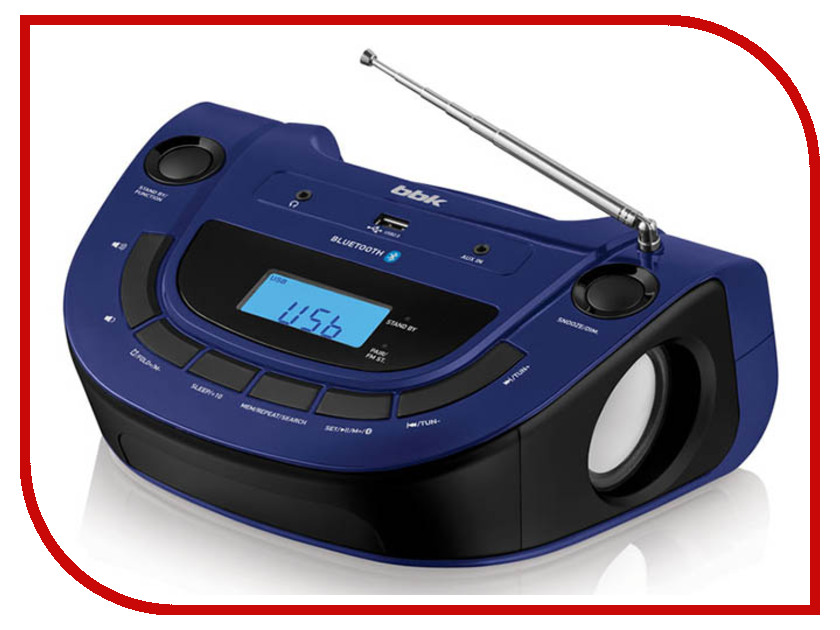 цена на Магнитола BBK BS07BT Dark Blue