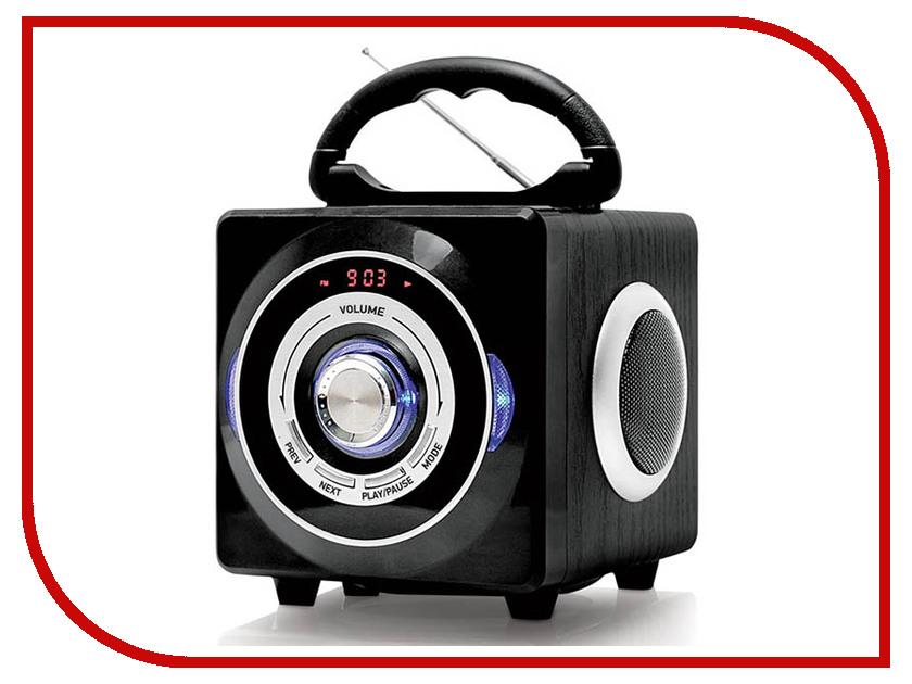 Магнитола BBK BS03BT Black аудиомагнитола bbk bs03bt черный