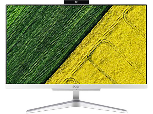 Моноблок Acer Aspire C22-865 Silver-Black DQ.BBRER.009 (Intel Core i3-8130U 2.2 GHz/4096Mb/128Gb/UHD Graphics 620/Wi-Fi/Cam/21.5/1920x1080/Windows 10 Home) моноблок acer aspire s24 880 gold dq ba8er 001 intel core i7 8550u 1 8 ghz 8192mb 1tb uhd graphics 620 wi fi cam 23 8 1920x1080 windows 10 home