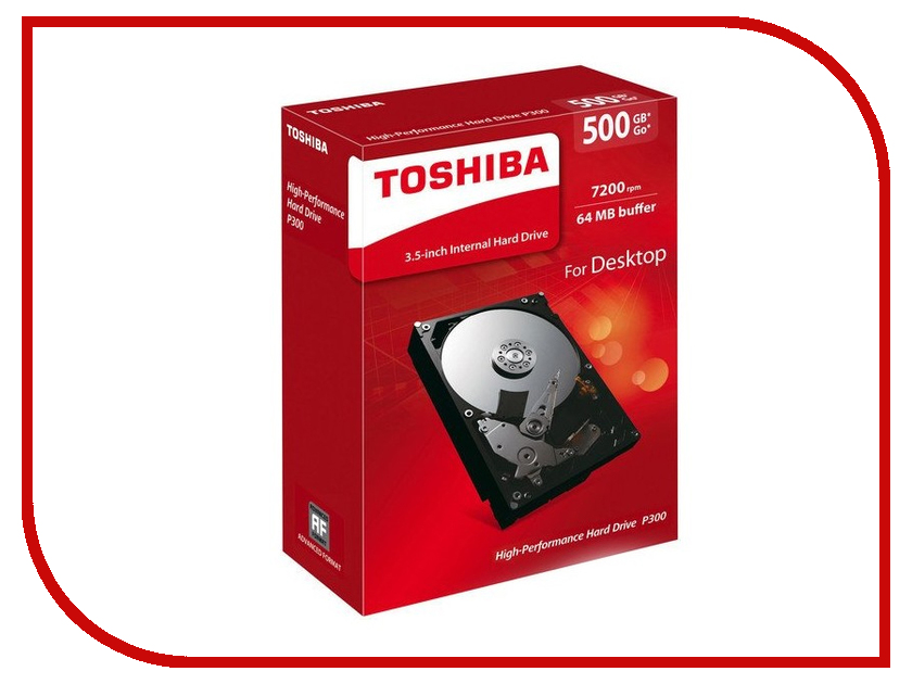 Жесткий диск Toshiba HDWD105EZSTA 500Gb