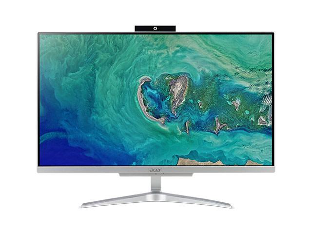 Моноблок Acer Aspire C24-865 Silver DQ.BBTER.001 (Intel Core i3-8130U 2.2 GHz/4096Mb/500Gb/UHD Graphics 620/Wi-Fi/Cam/23.8/1920x1080/Windows 10 Home)